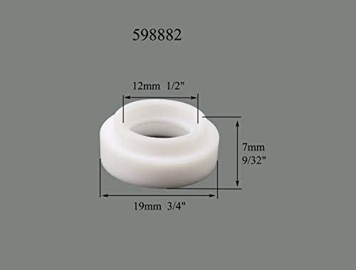 TIG Gas Lens Back Cap Collet Body Kit Fit WP SR 9 20 25 TIG Welding Torch 63pcs