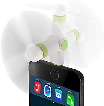 PLOUT Mini Ventilador del Teléfono Móvil Ventilador Al Aire Libre ...