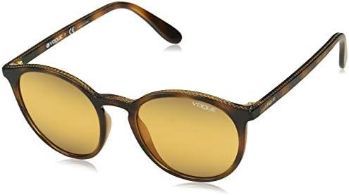 Ray-Ban Damen 0VO5215S Sonnenbrille, Braun (Top Havana Light Brown), 51