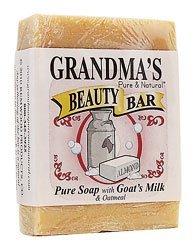 Grandma's Pure & Natural Beauty Bar Oatmeal Almond 4 oz b...