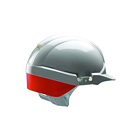 Reflex - Casco de seguridad, color blanco C/W naranja: Amazon.es ...