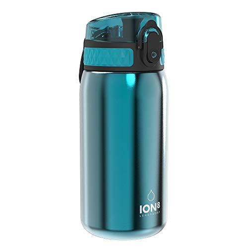 🥇 Ion8 Botella Agua Acero Inoxidable Niños Sin Fugas