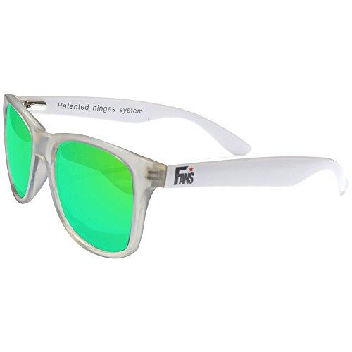 9d7344bb9c Delicado Gafas De Sol Fans, CustomEyes, Polarizadas, Frosted White ...