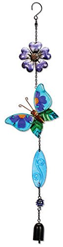 Sunset Vista Designs Metal and Glass Butterfly Suncatcher