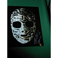 $25 » Boston Bruins Gerry Cheevers Autographed 8x10 Photo Mask