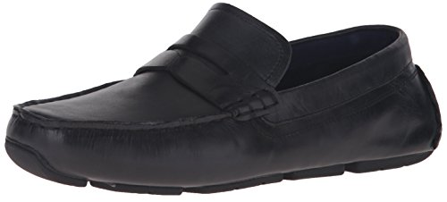 Cole Haan Men's Kelson Penny Loafer, Black, 11.5 M US