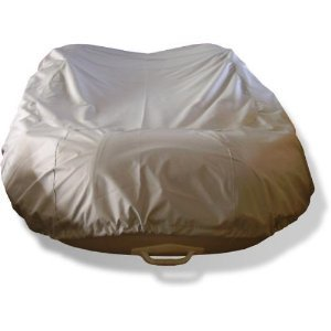 (NEW grey 8 1/2' VORTEX INFLATABLE BOAT DINGY DINGHY COVER/600D, FITS UP TO 8 1/2' LONG, 5' WIDE, 16 1/2
