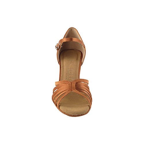 Party Party Sera7032.1135 Comfort Evening Dress Pump, Scarpe Da Sposa: Scarpe Da Ballo Da Donna Tacco Medio-alto, Salsa, Tango, Latino, Swing Salsa Tango Swing Latino 1135- Tan Tan Scuro