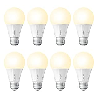 Sengled Smart Light Bulb, Smart Bulbs that work with Alexa, Google Home (Smart Hub Required), Smart Bulb A19 Alexa Light Bulbs, 800LM Soft White (2700K), A19 Dimmable, 9W (60W Equivalent), 8 Pack