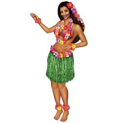 Jointed Hula Girl Party Accessory (1 count) (1/Pkg) (Hula Dancer Costume)