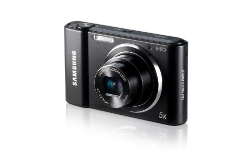 Samsung ST68 Compact Digital Camera - 16.1mp - 5x Optical Zoom- Live Panorama - Black
