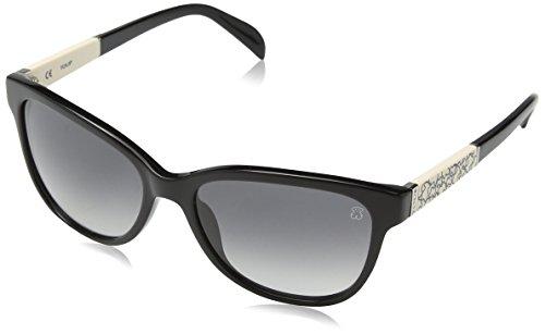 Mujer Sol Gafas de Shiny para Tous Black FqTI8ZF