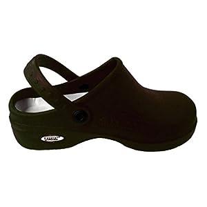 Natural Uniforms - Women's Lightweight Nurse Shoes / Nursing Clogs 9 B(m) US Black