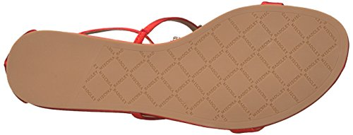Badgley Mischka Women's Barstow Flat Sandal Coral hZue3wLF