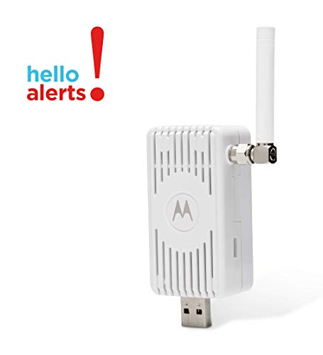 MOTOROLA Cellular-Connected MultiSensor Reports Temperature, Humidity, Water leaks, Acceleration/Earthquakes, Light Level, Power Loss, Model MC4000 (Best Home Alarm Monitoring Service)