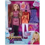 (Disney Hannah Montana Fashion Doll with 3 Real Outfits from Hannah's Wardrobe! )