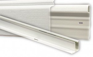 Home Vinyl - Mobile Home Vinyl Skirting White Upper & Lower Underpinning Track Trim Kit (58 Feet)