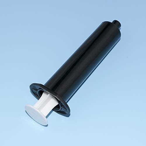 20 Pcs 30ml Black Light-Proof Syringe with Storage Caps Industrial Syringes Helix Dispensing Syringe UV Blackout Needle Tubing Hand Push Syringe Anti-UV Syringe (20 Pcs 30ml Black Syringe)