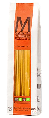 Pasta Mancini - Spaghetti gr 500 - Package In Envelope Transparent