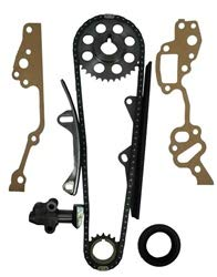 (LC Engineering 1015035-22R/RE Single Row Timing Chain Kit With Metal Guides 1985-1995)