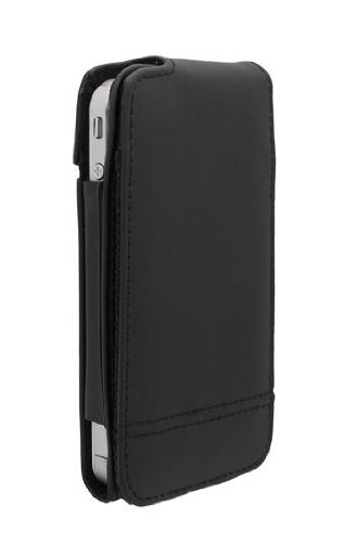 Belkin Verve Folio Leather Case for iPhone 4 - (Belkin Black Leather Folio)