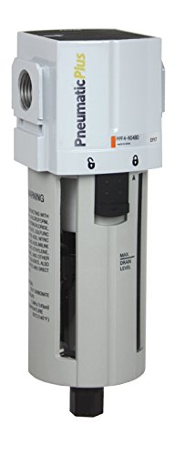 Tank Compressed Aluminum Air - PneumaticPlus PPF4-N04B Compressed Air Particulate Filter, 1/2