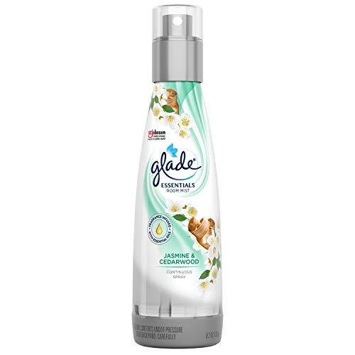 Glade Jasmine & Cedarwood Essentials Room Mist, 6.2 -