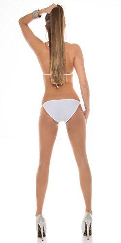 In-Stylefashion - Tankini - para mujer Weiß