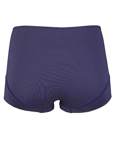 RJ Bodywear Pure Color Dark Blue Ladies Short 31-008 XL