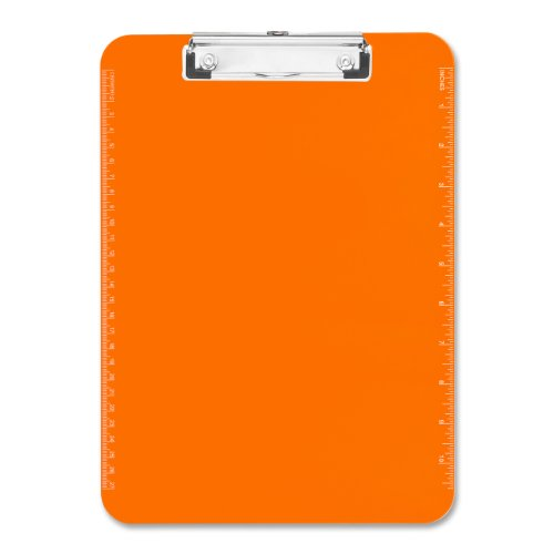 Business Source Transparent Plastic - Clear Office Clipboard