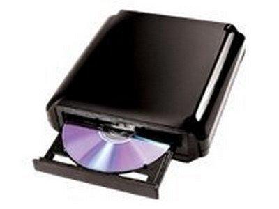 I/OMagic IDVD24DLE - Disk drive - DVD±RW (±R DL) / DVD-RAM - 24x/24x/12x - Hi-Speed USB - external - IDVD24DLE