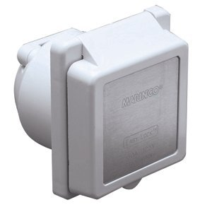Marinco Standard 30-Amp / 125V Easy Lock Power Inlet by Marinco
