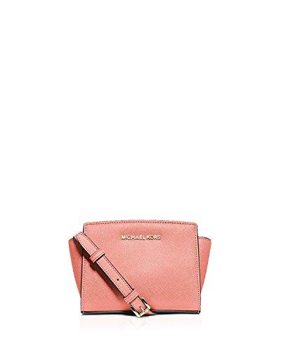 MICHAEL Michael Kors Women's Selma Mini Messenger Bag, Pale Pink, One Size