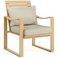 CorLiving Aquios Bentwood Armchair