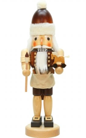 SEIF 32-327 Christian Ulbricht Nutcracker - Santa with Toys44; Natural