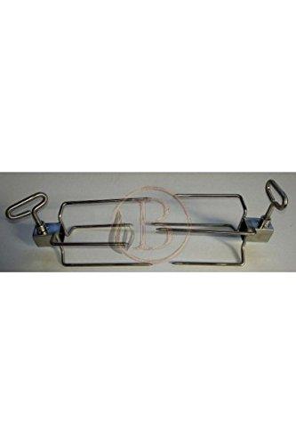 Pack Motor asador giratorio 80/kg con broche profesional