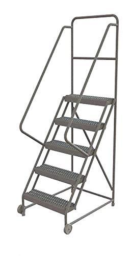 Tri-Arc KDTF105242 - Tilt and Roll Ladder 5 Step Serrated