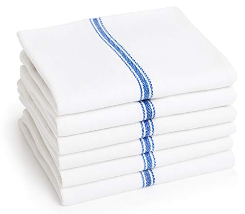 (Dish Towels (6 Units)x2022; Commercial Kitchen Towelx2022; Absorbent 100% Cotton Herringbone (14