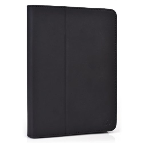"""Icarus Illumina HD Folio Case Cover Stand with Soft Grip Clips - Universal Style fits Most 8"""" Devices 