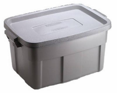 United Solutions RMRT140008 Roughneck Storage Tote, 14-Gal, Must Purchase in Quantities of 12 - Quantity 6 (Tote Storage Roughneck)