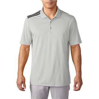 Adidas Golf Men's ClimaCool 3-Stripes Polo - US M - (Climacool 3 Stripes Polo)