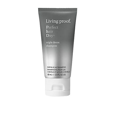 LIVING PROOF Perfect Hair Day Triple Detox Shampoo 2.0 oz (Best Hair Detox Shampoo)