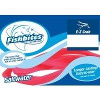 (Fish Bites 0078 Long Lasting EZ Crab, Saltwater Baits, Pink - 2 Baits (Per Pack))