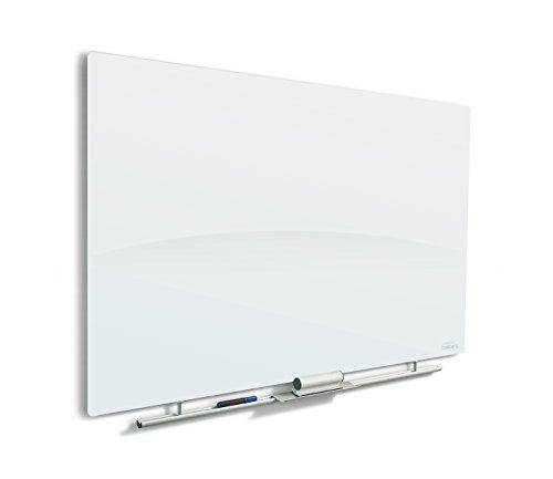Iceberg 31192 Magnetic Glass Dry Erase Board, 30