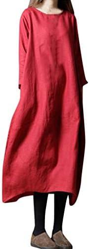 liqiuxiang コクーンワンピース レディース シャツワンピース ブラウス シャツ ドレス 長袖 ロング コート ゆったり 無地 フォーマル バルーンワンピース 大きいサイズ tシャツ デザイン