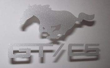 ng Pony GT/CS Etched Glass Vinyl Decal Sticker Graphic ()