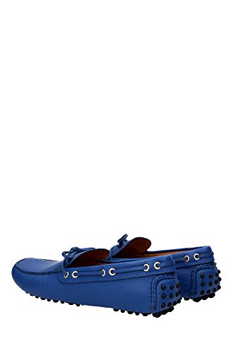 KUD006COBALTODAINO2 Men UK Shoe Blue Car Loafers vAwHPqtt