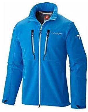 Men's Trail Warrior Softshell Jacket, Hyper Blue