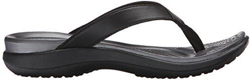 Flip Graphite crocs V Black Women's Capri wSq1qtA