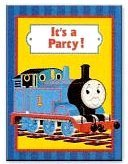 Thomas Full Steam Ahead Invitations - 8 Count